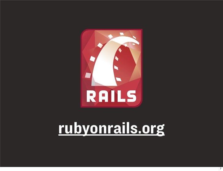 rubyonrails.org                    7