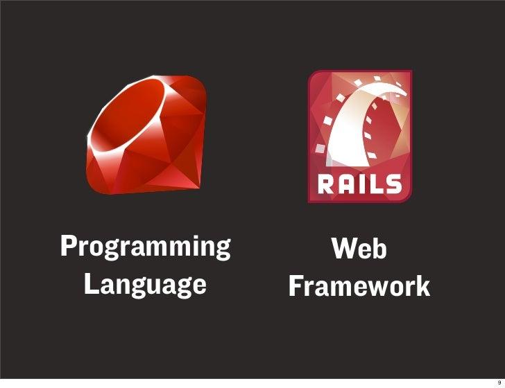 Programming      Web  Language     Framework                            9