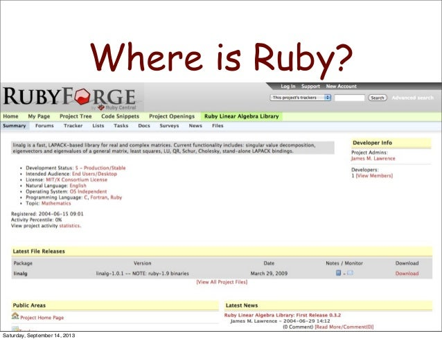 ruby machine learning