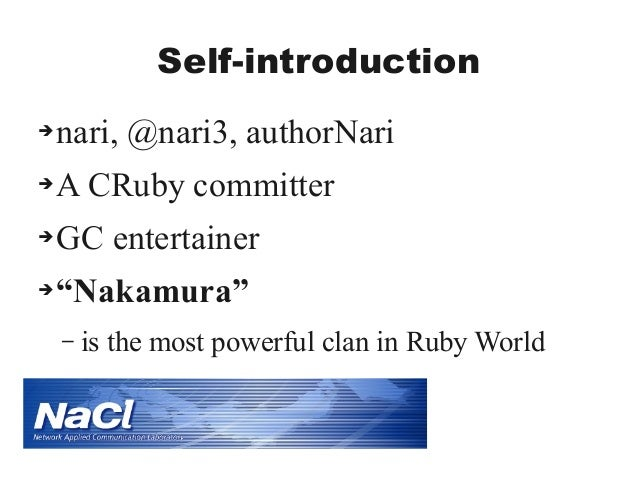 Ruby's GC 20 Slide 2