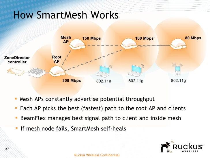 Giải pháp mạng không dây thông minh Ruckus Wireless