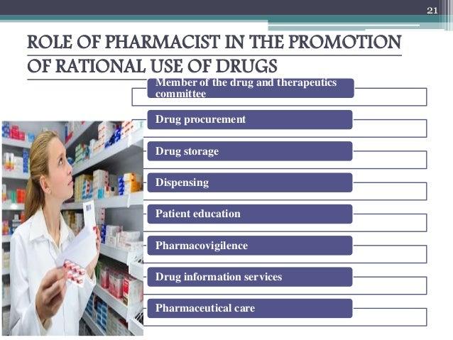 21 role of pharmacist - Drug Information Pharmacist