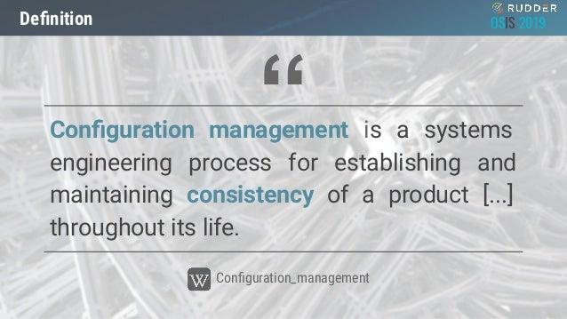 OSIS19_Cloud : Qu'apporte l'observabilité à la gestion de configuration? par Nicolas Charles Slide 3