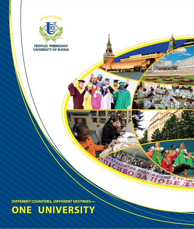 DIFFERENT COUNTRIES, 		 DIFFERENT DESTINIES – ONE UNIVERSITY