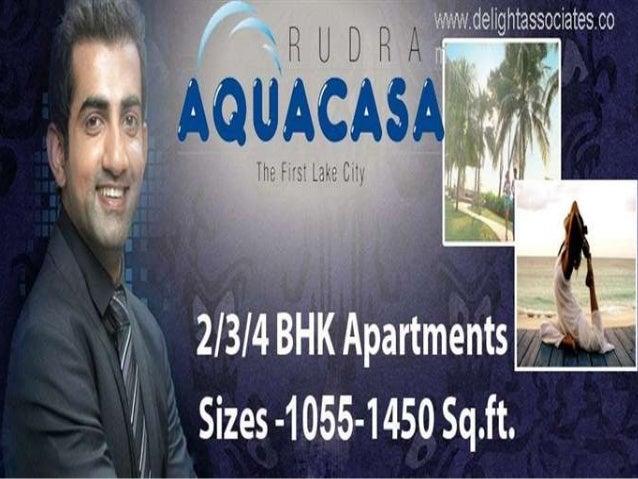 Rudra AquaCasa Noida Extension Sec-16  CONTACT US DELIGHT ASSOCIATES(0%Brokerage) MOB : 9910061017,9873341012 Email : info...