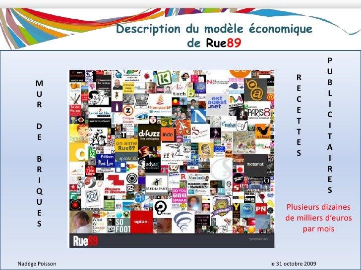 Philosophie de Rue89<br />Le site se veut être un projet d'intérêt public en mettant les bloggeurs et les internautes au c...