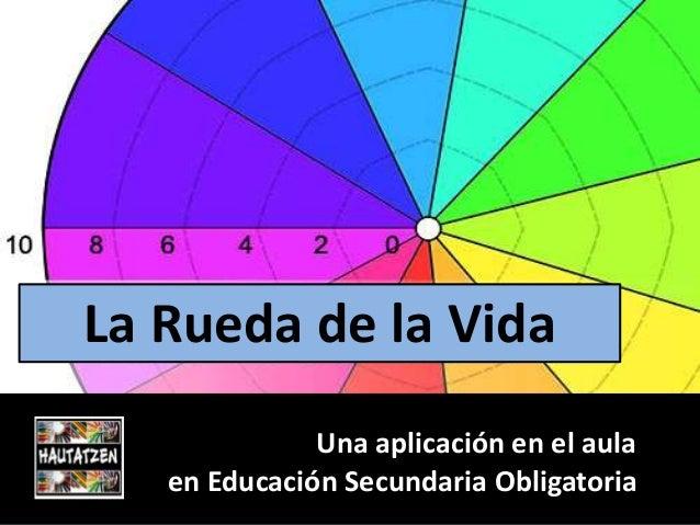 La Rueda de la Vida  Una aplicación en el aula  en Educación Secundaria Obligatoria