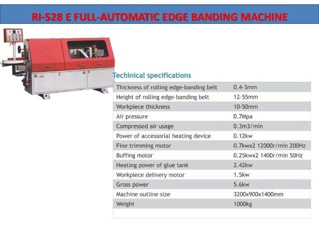 Edge Banding Machine Manufacturer in Coimbatore