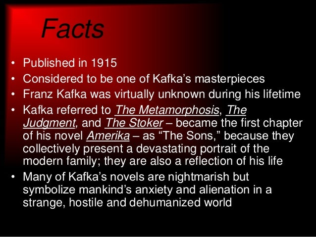 """an analysis of alienation in gregors novel the metamorphosis As this character analysis of gregor in """"the metamorphosis"""" by franz kafka suggests, his mother, father, and his sister have not changed form,."""