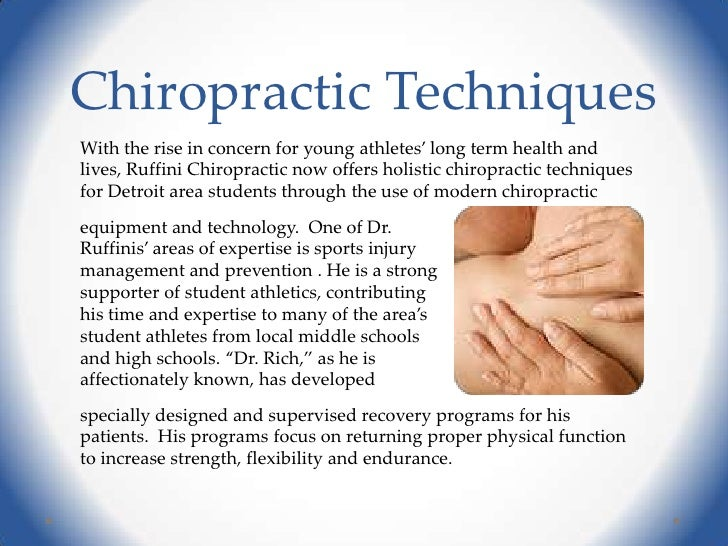 an overview of the alternative medicine and the use of chiropractic Complementary and alternative medicine use among  natural products (39%) and chiropractic or osteopathic  national health statistics reports n number 12.