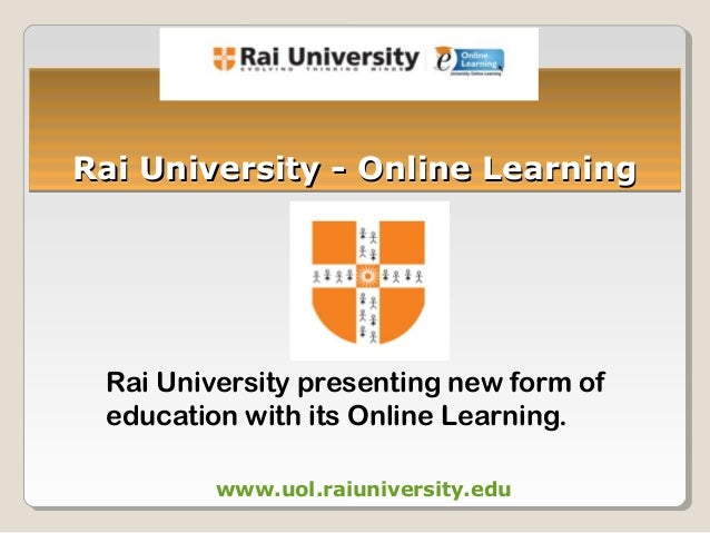 Rai university online courses overview rai university online learning rai university presenting new form of education with its online learning yelopaper Choice Image