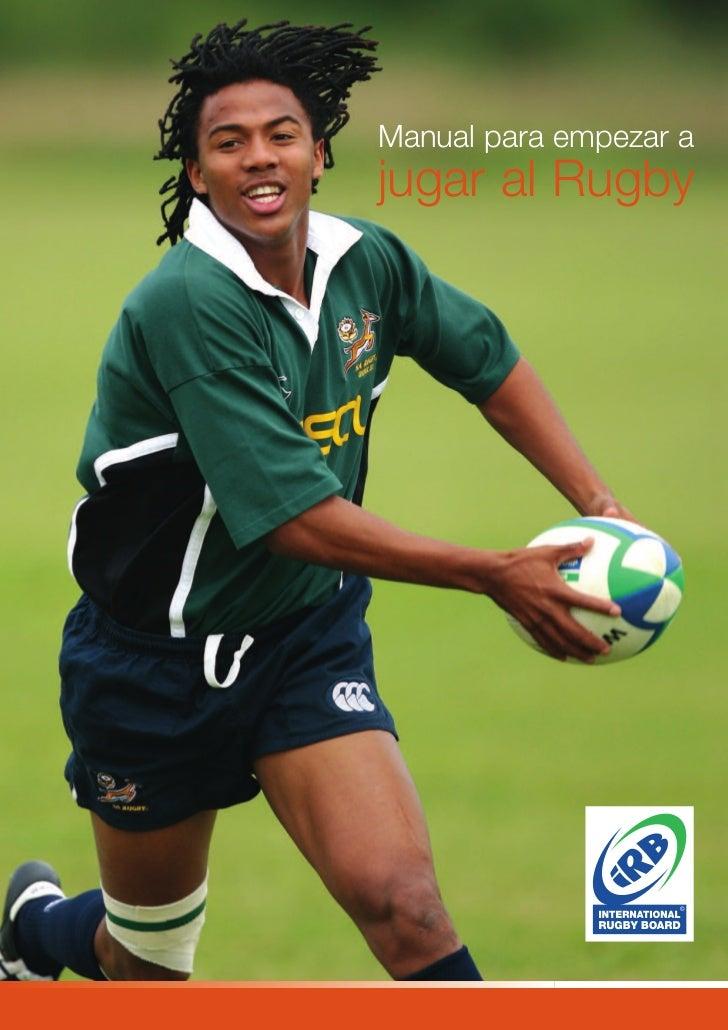 Manual para empezar ajugar al Rugby