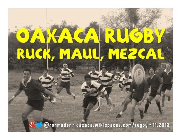 Rugby  OAXACA
