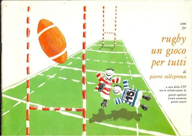 Rugby un gioco per tutti di Pierre Villepreux