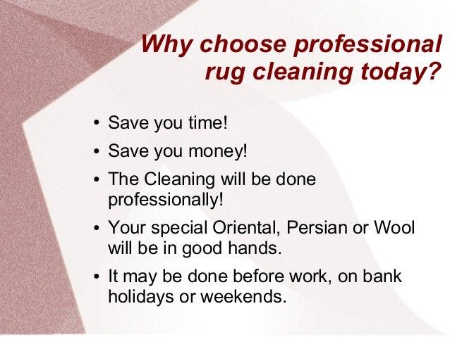 Rug cleaning Slide 2