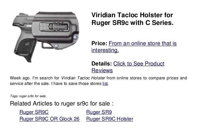 Ruger sr9c for sale