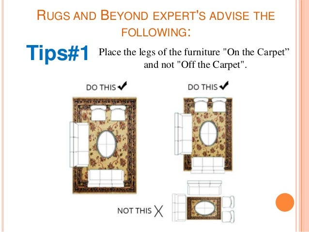 Rug placement tips by rugs and beyond for Rug placement