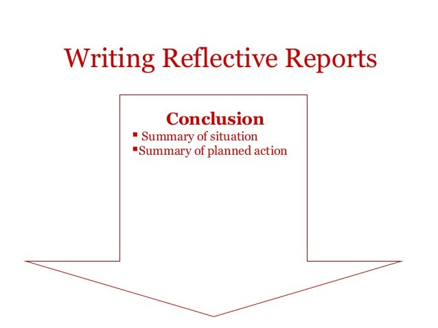 Reflective Reports