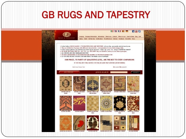 GB RUGS AND TAPESTRY