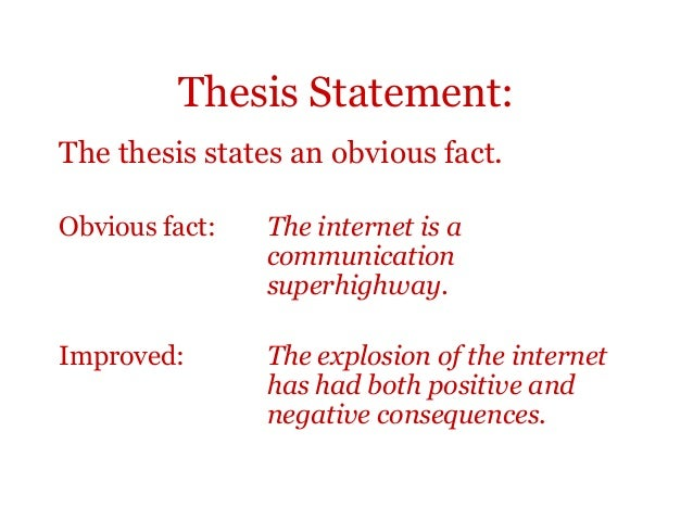 positive thesis statements Psychology thesis topic ideas  our guides and tips are meant to help freshmen and graduate students compose strong and interesting thesis statements and writing.