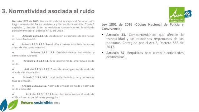 Decreto 1076 de 2015: Por medio del cual se expide el Decreto Único Reglamentario del Sector Ambiente y Desarrollo Sosteni...