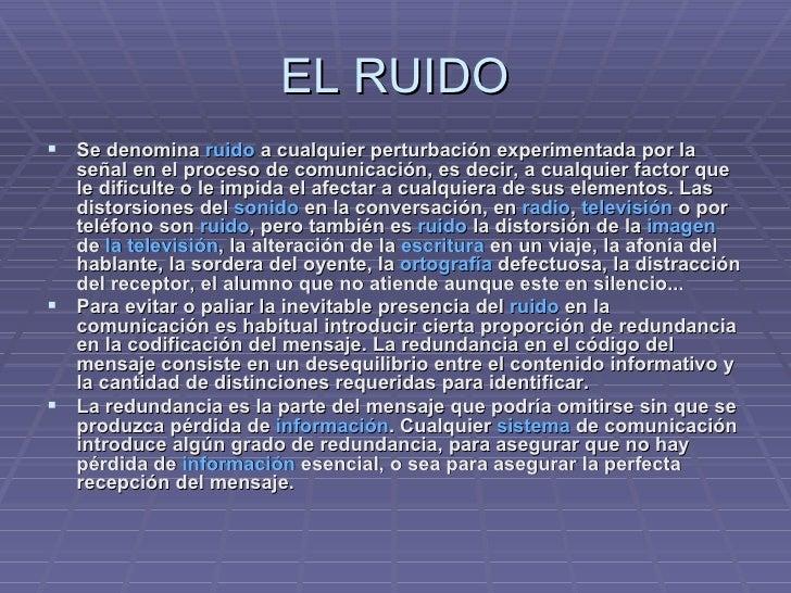 Ruidos En La Comunicacion Slide 3