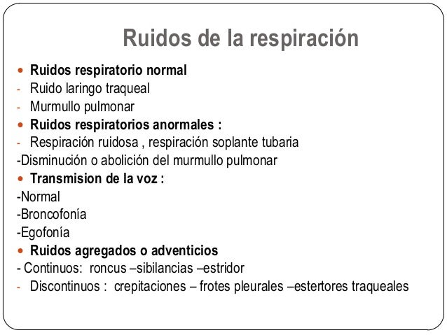 RUIDOS PULMONARES ANORMALES EPUB
