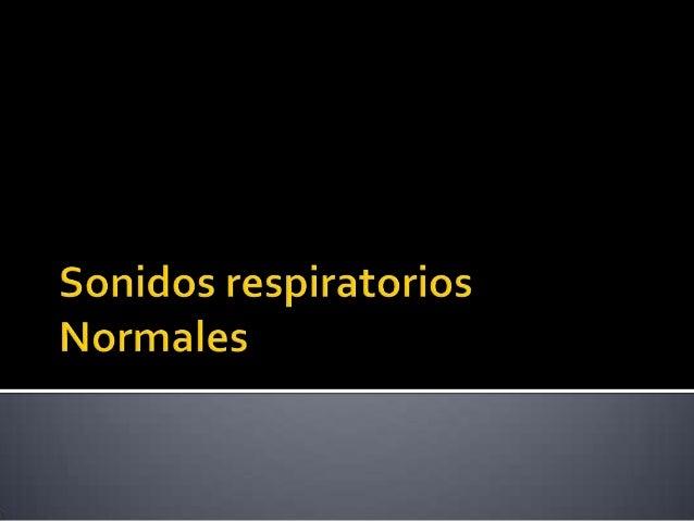    Murmullo vesicular   Ruido laringotraqueal   Ruido Broncovesicular   Voz