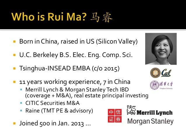 Rui Ma China Keynote East Meets West
