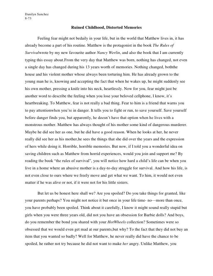 Slave narrative essay