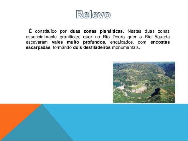O clima da região do Douro Internacional pode definir-se comomediterrâneo-subcontinental, de acentuadas amplitudes térmica...