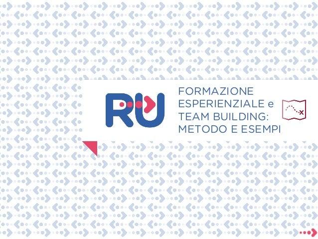 Costruisci il tuo team! Proposte di team building Slide 2