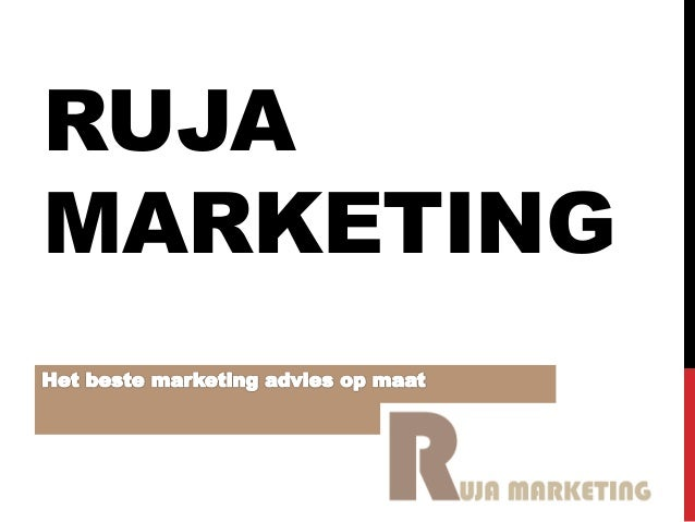 RUJA MARKETING