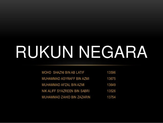 third principle of rukun negara The five horizontal lines represent the five principles of the 'rukun negara' (national pillars) reverse: the national flower 'bunga raya' (rosa-sinensis hibiscus), the year date of issue, the denomination 20 sen being the monetary face value and the words 'bank negara malaysia.