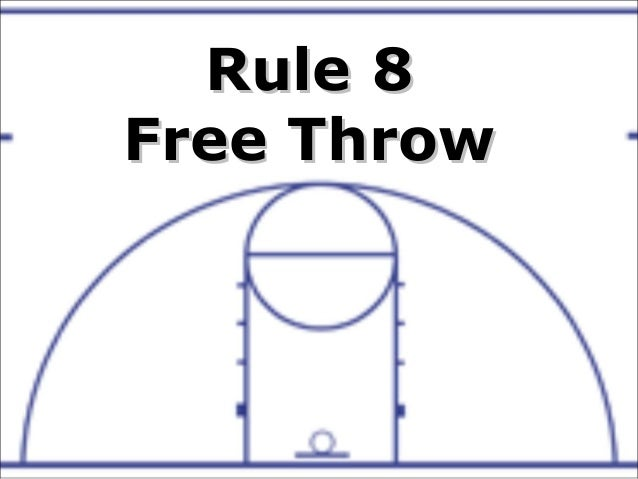 RuleRule 88 Free ThrowFree Throw