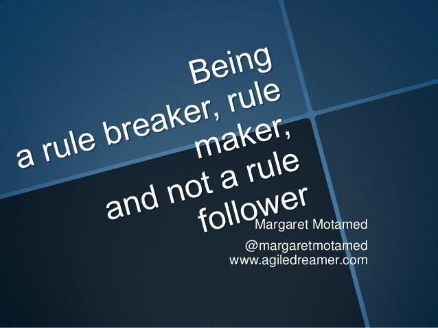 Margaret Motamed @margaretmotamed www.agiledreamer.com
