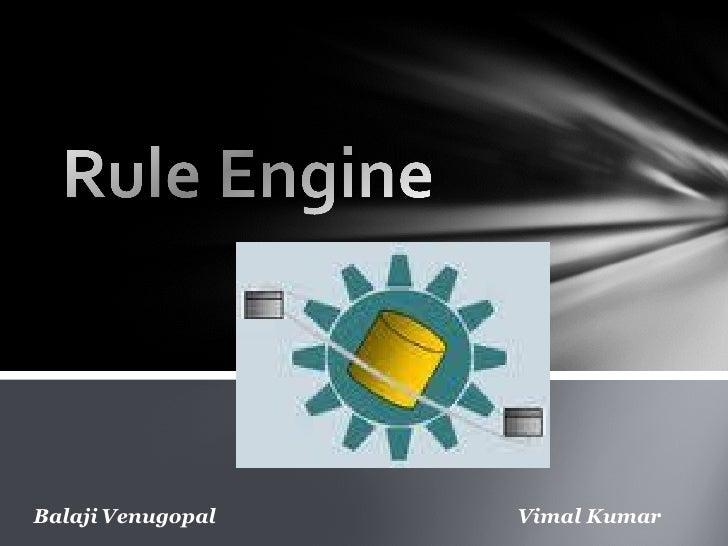 Balaji Venugopal   Vimal Kumar
