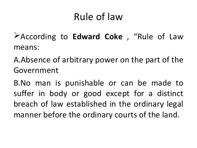 rule of law essays The rule of law is a term that is often used but difficult to define a frequently heard saying is that the rule of law means the government of law, not men.
