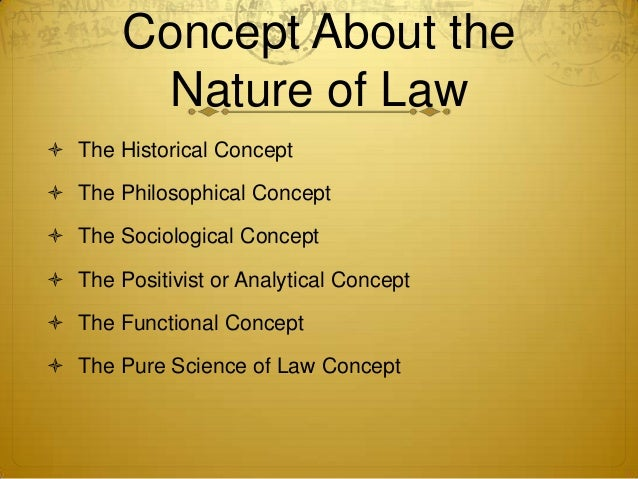 Rule of law: Political Science
