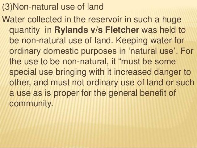 Rylands v Fletcher