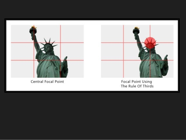 High School Photography Lesson, Rule of thirds