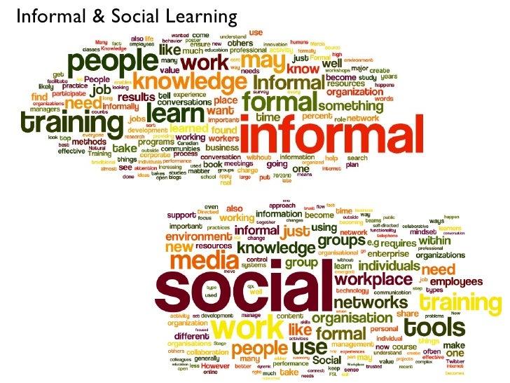 Informal & Social Learning