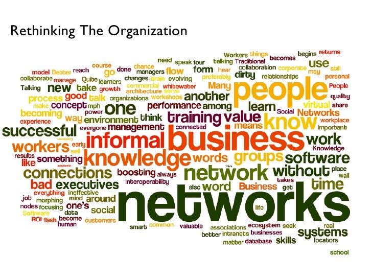 Rethinking The Organization