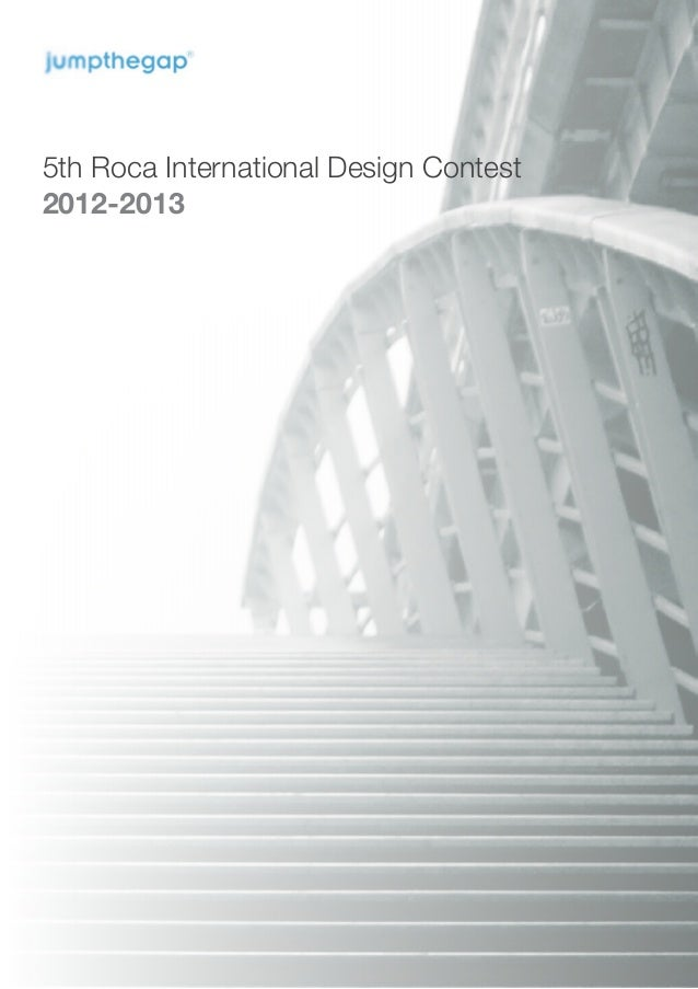 5th Roca International Design Contest2012-2013