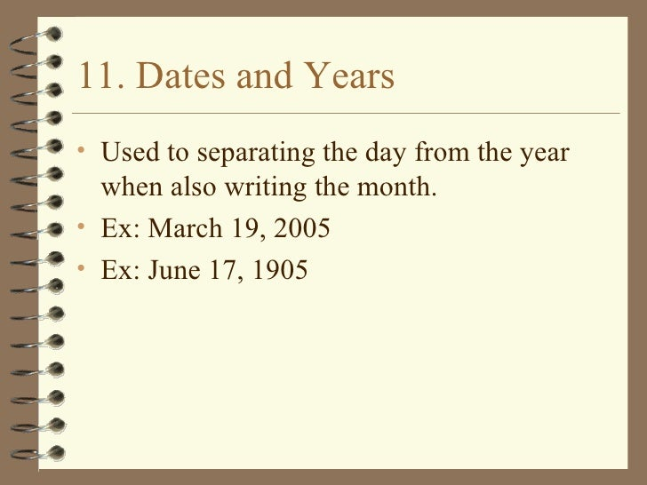 Writing dates in europe