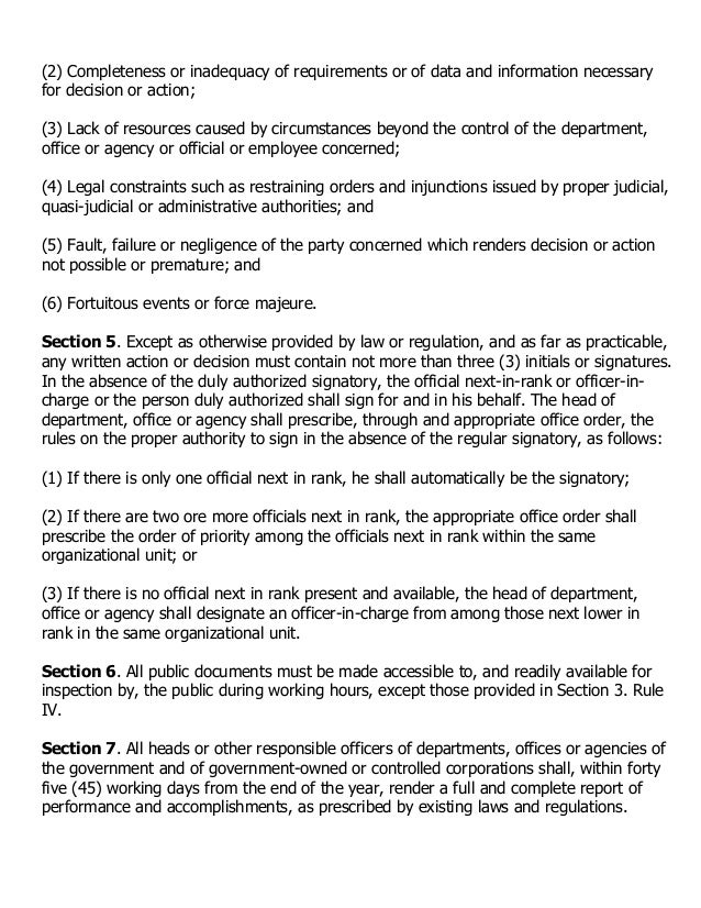 """code of conduct and ethical standards for public officials and employees Whereas, ra 6713, otherwise known as the """"code of conduct and ethical  standards for public officials and employees,"""" provides that public officials and."""
