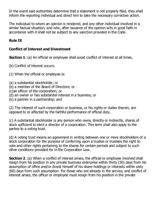 code of conduct and ethical standards New code of ethics and standards of conduct these principles are general statements expressing the ethical and professional ideals certificants and registrants.