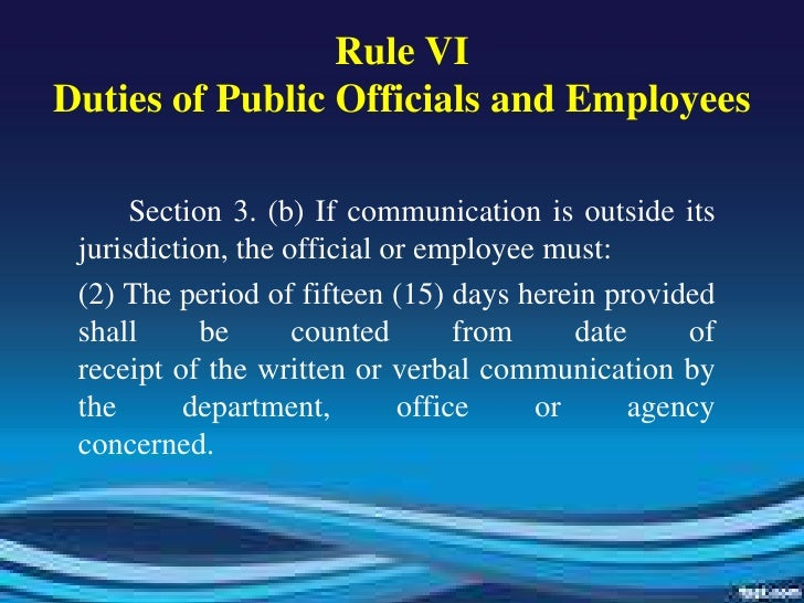 code of conduct and ethical standards for public officials and employees This code of ethics policy is created under the directive of wis stat § 1945(11)(b), for the guidance of all uw system employees, to avoid activities which cause, or tend to cause, conflicts between their personal interests and their public responsibilities, and to improve standards of public service.