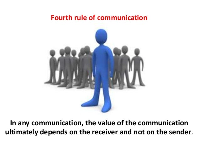 communication rules Communication rules: shared understandings of what communication means and what behaviors are appropriate in various situations we unconsciously absorb rules that guide how we communicate and how we interpret others' communication.
