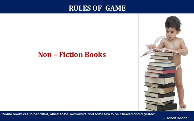 RULES OF GAME                     Non – Fiction Books                                                        Non-Fiction B...